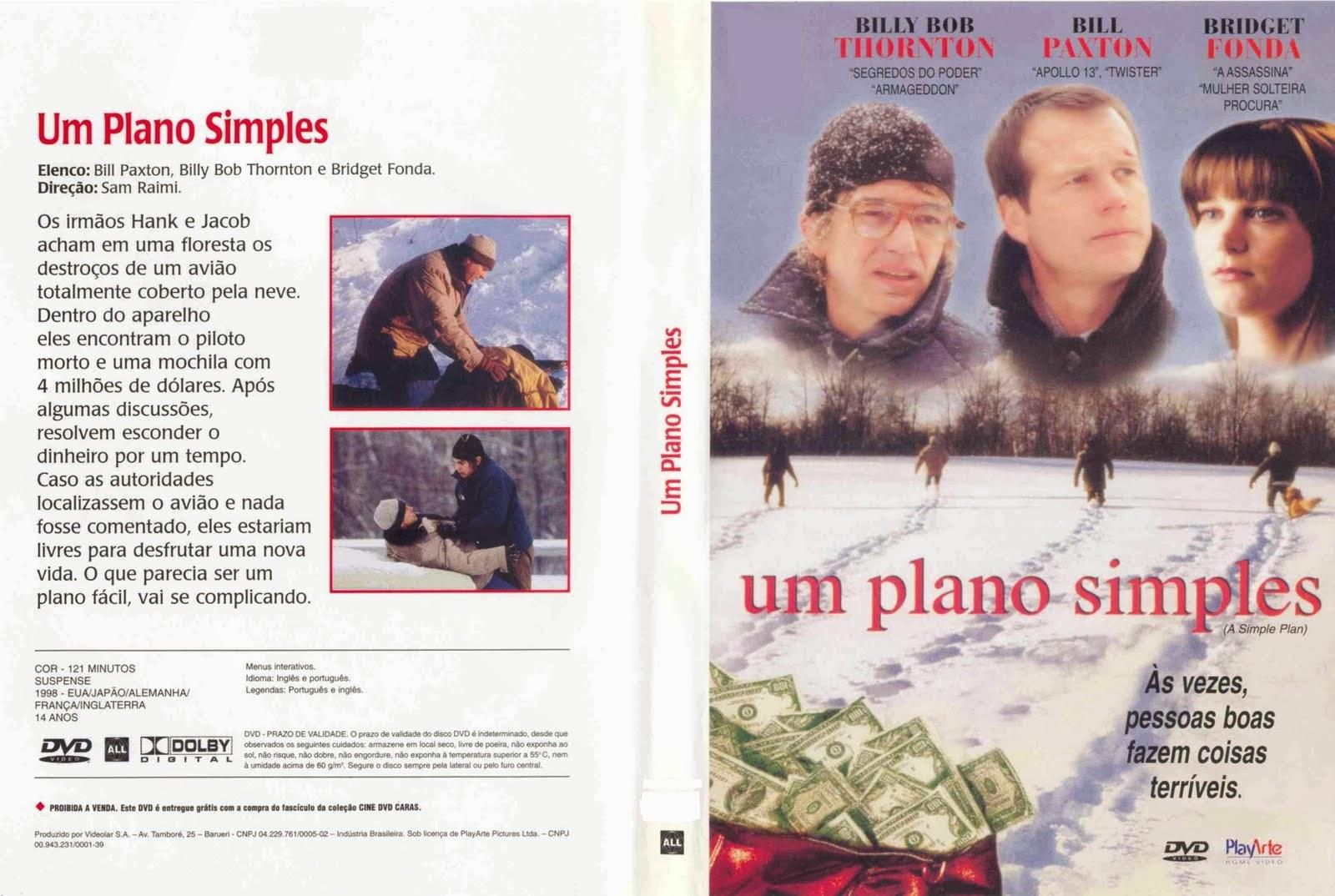 Filme Um Plano Simples DVD Capa