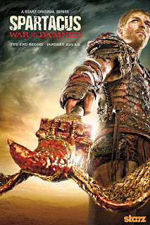 Spartacus poster terceira temporada Assistir Spartacus War of the Damned S03E01   Enemies of Rome
