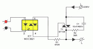 DIY Solid State Relay Circuit Diagram