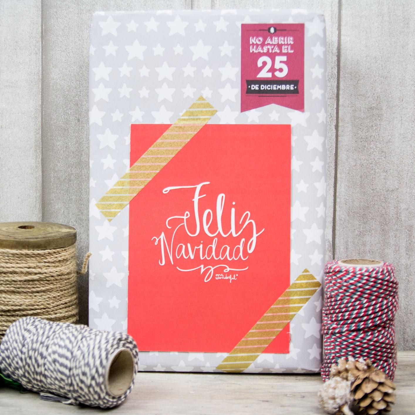 en el blog de muy moln podrs descargar tarjetas muy originales para al tus regalos navideos