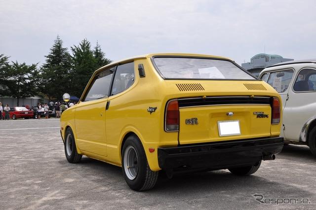 Subaru Rex, klasyk, mały silnik, niewielki, stary, old car, retro, mały samochód, kei car, 軽自動車
