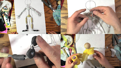 The 11 Second Club Blog: Stop Motion Tutorial: Build a Wire Armature