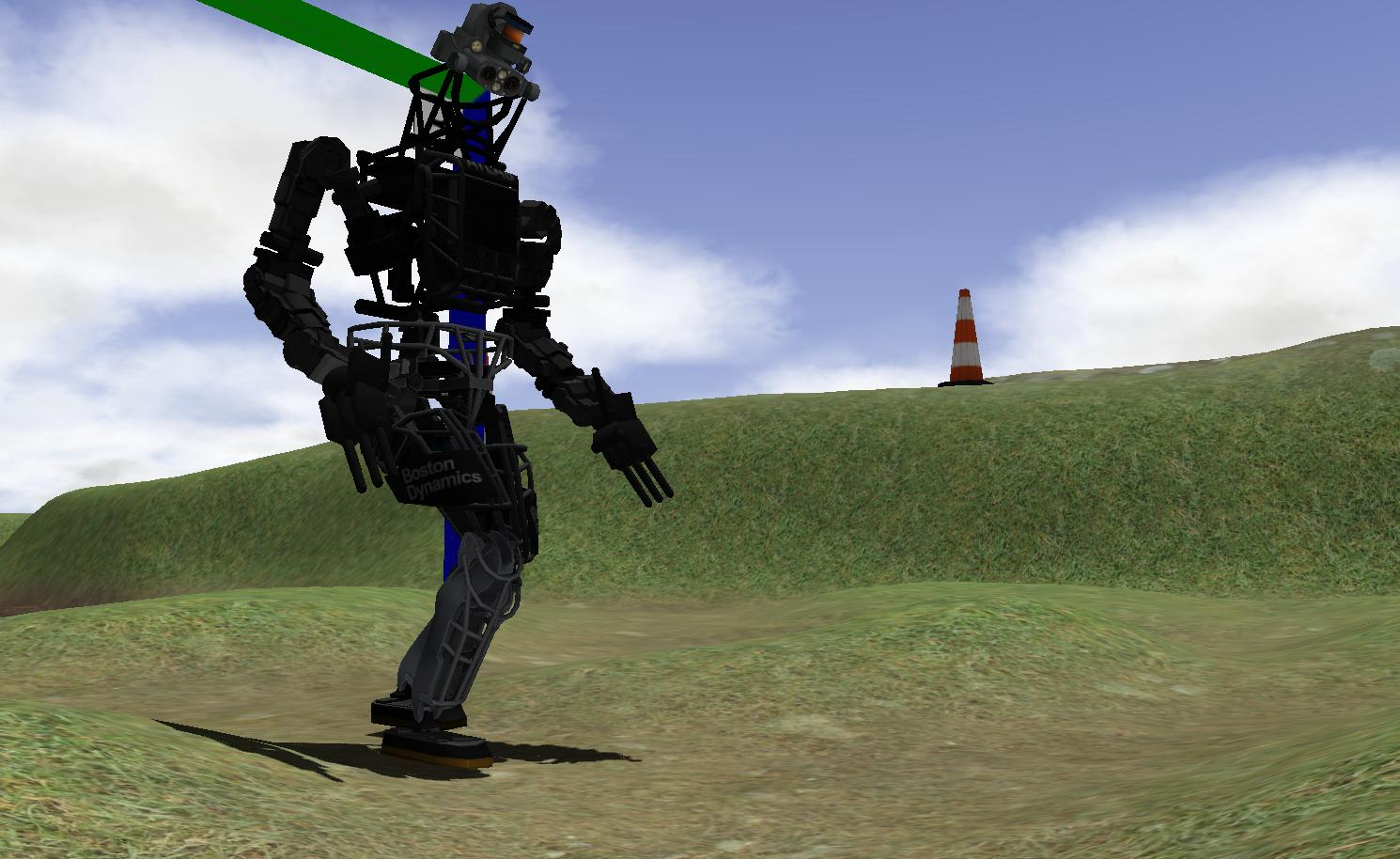 Virtual Stage of The DARPA Robotics Challenge Complete