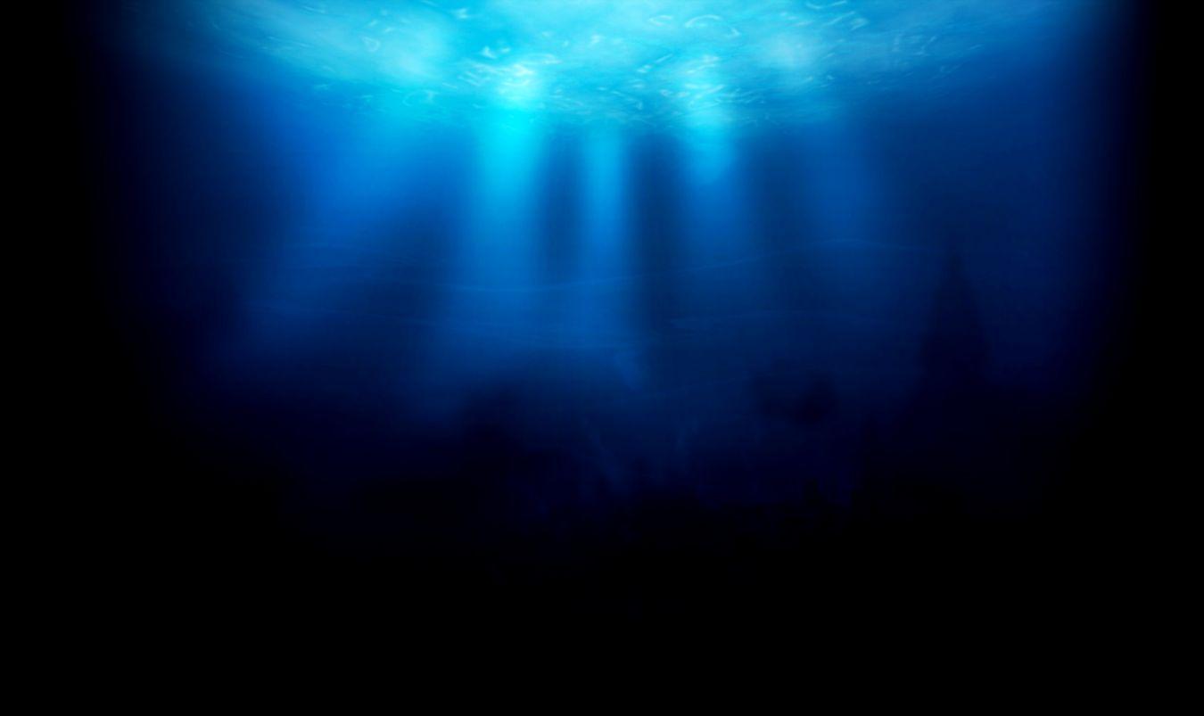 dark underwater ocean wallpaper wallpapers gallery