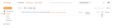 Consultar las veces que se ha visto una entrada concreta en Blogger