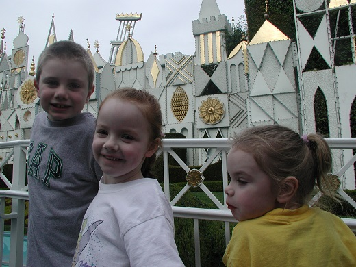 Outside It's a Small World at Disneyland