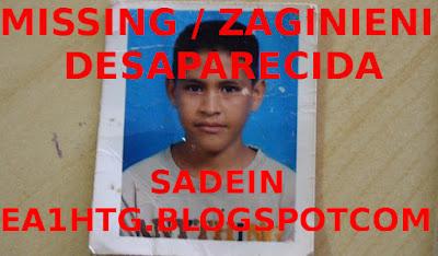 MISSING/ DESAPARECIDO  Cristian Javier Rondón venezuela 13 años