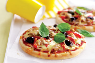 Mediterranean Pizzas Recipe