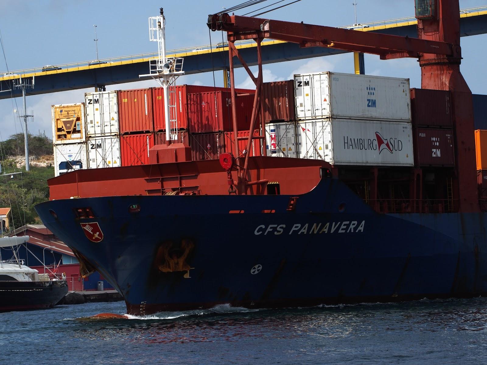 CFS Panavera, #cfspanavera #cargoship #cargo #shipping #caribbean 2014