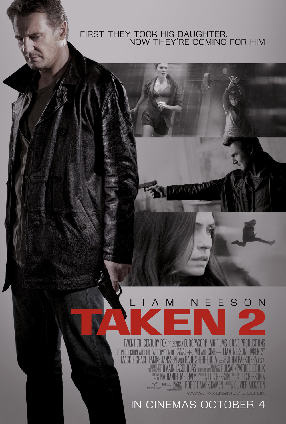 TOTALLY UNRATED: Taken 2 (2012) - Te buscaré y te ...