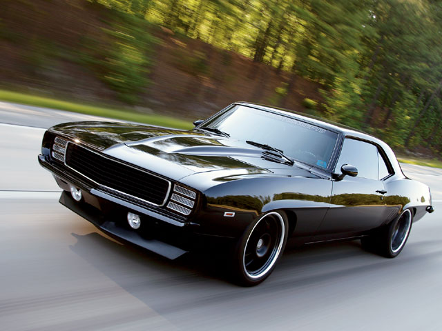 Modified Rides: 1969 Chevy Camaro RS