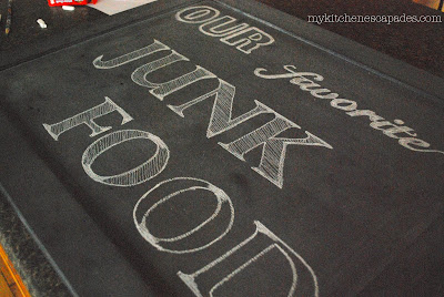 Tutorial to create lettering on a chalkboard