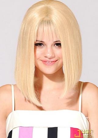 selena gomez hair. selena gomez blond hair