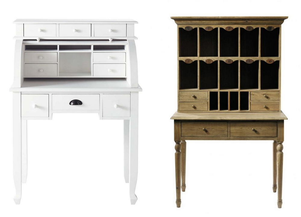 Mandy bla bla inspiration d co 4 un petit bureau for Petit bureau secretaire