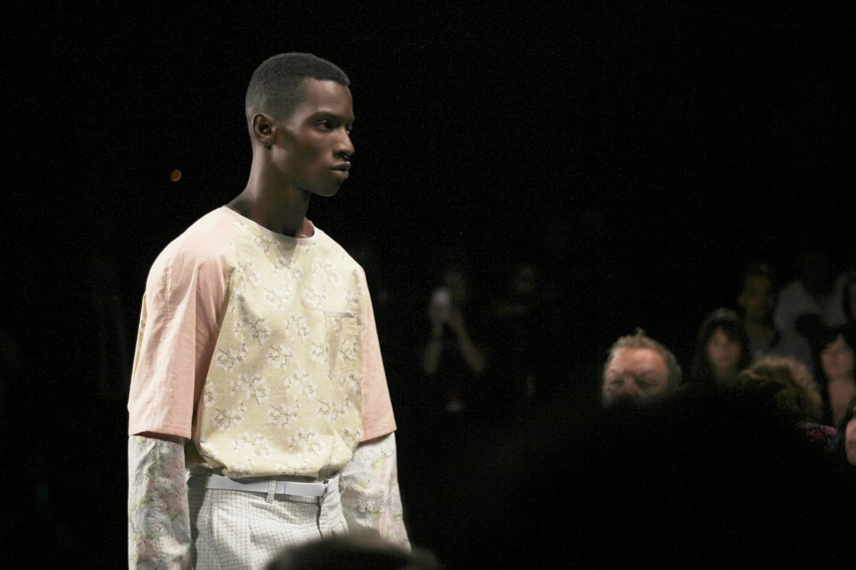 fashion week in new york style at a show by myberlinfashion