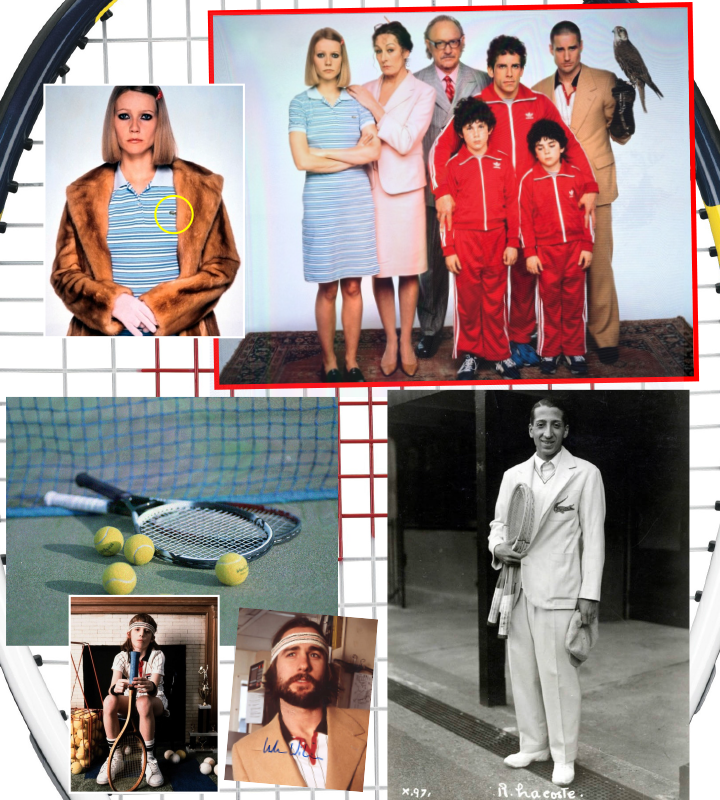 Lacoste, inspiration, The Royal Tennenbaums, tennis, dna