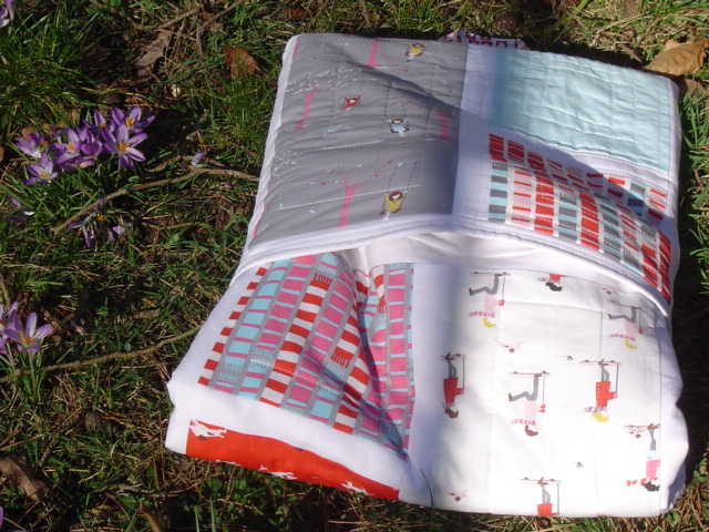 Quilty Creations: Sherbet Pips Quillow