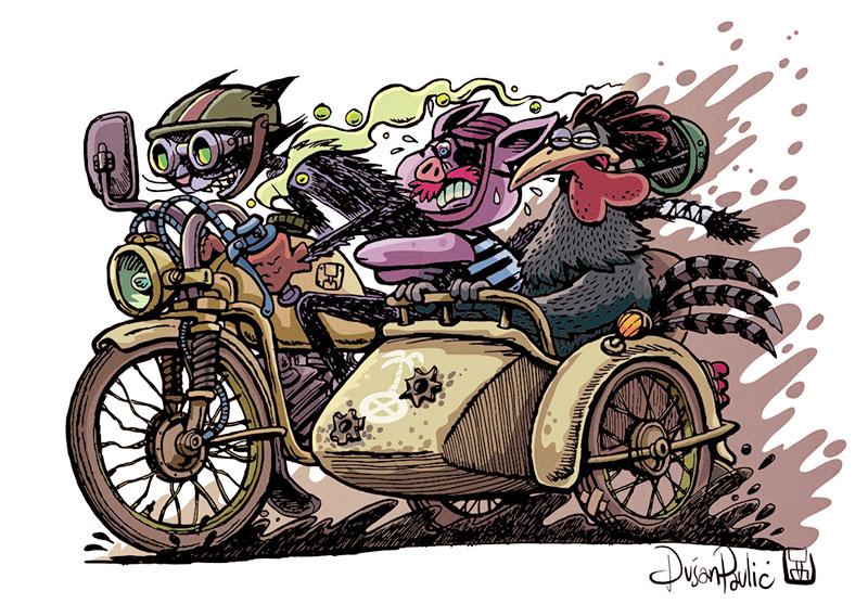 Dusan Pavlic's Illustrations