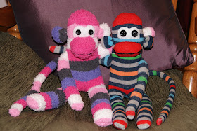 Sock Monkey Buddies