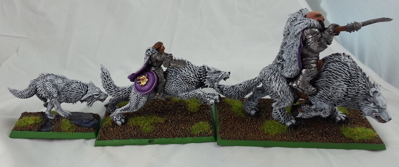 The Hoodling's Hole: Mournwolves finished!