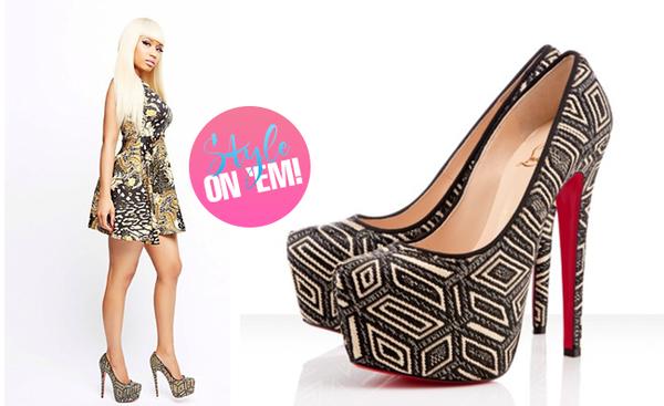 Nicki Minaj Shoes Shoes