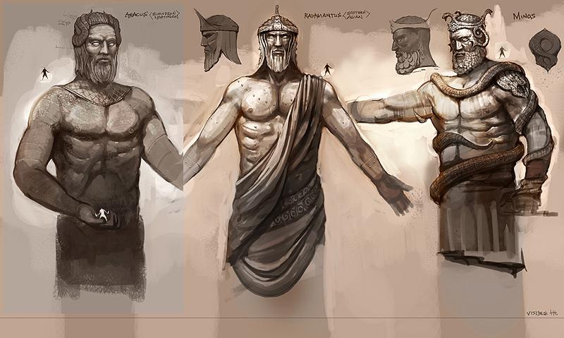 Juez del Infierno - Aiacos de Garuda 1