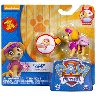 TOYS : JUGUETES - PAW PATROL : La Patrulla Canina  Hero Pup - Pup-Fu Skye | Figura - Muñeco  2015 | Serie Television Nickelodeon | Spin Master - Bizak | A partir de 3 años  Comprar en Amazon España & buy Amazon USA