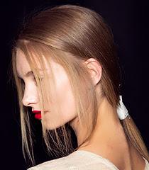 Ниска опашка, модни прически пролет-лято 2013