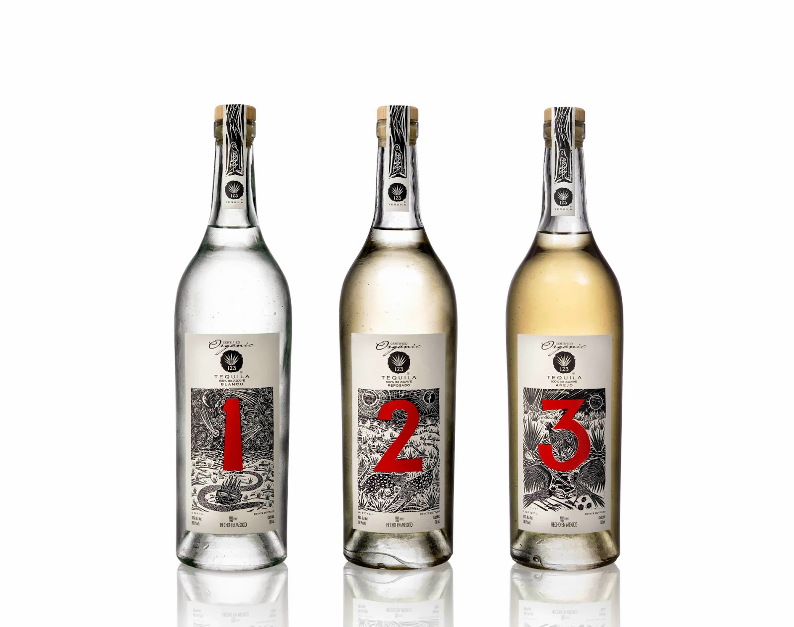 123 organic tequila uno dos tres for Which tequila is best