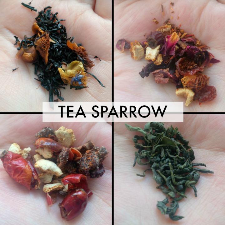 Review Unboxing | Tea Sparrow Tea Subscription Box - April 2015