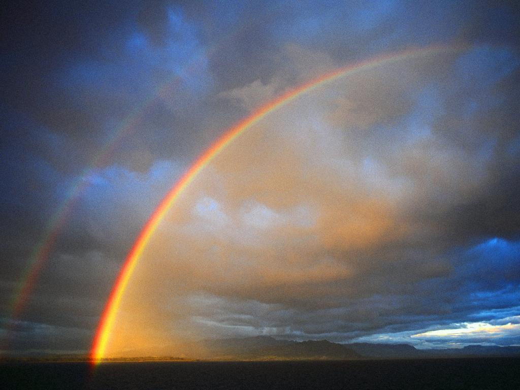 an absolutely ordinary rainbow