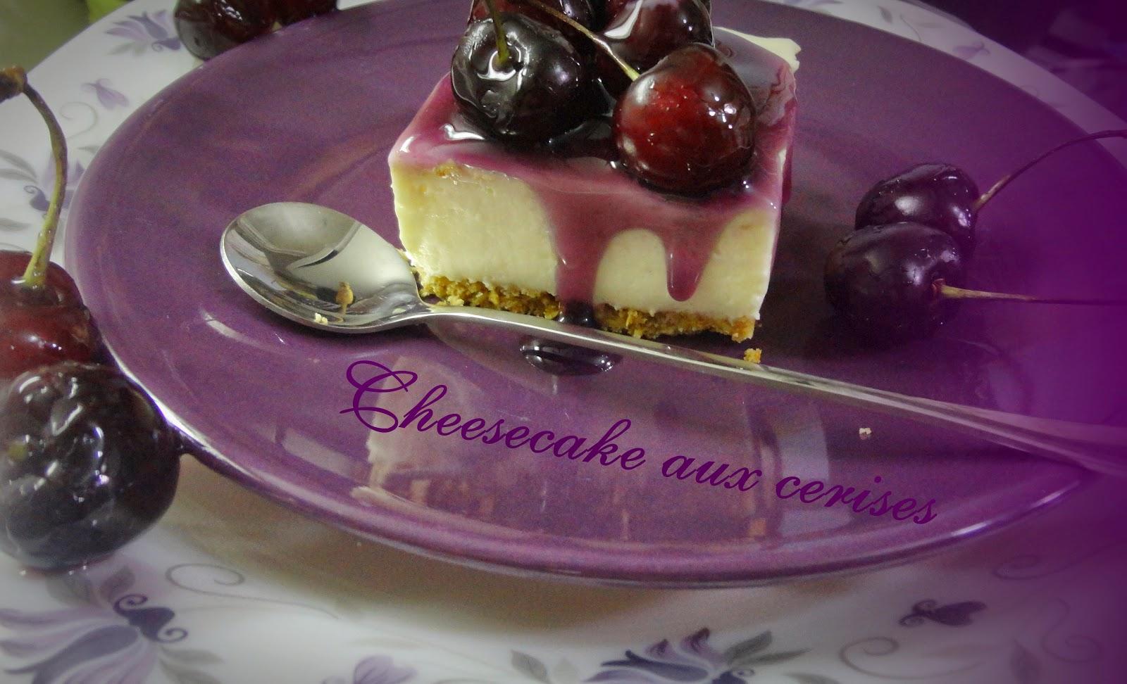 les recettes de cheesecake aux cerises