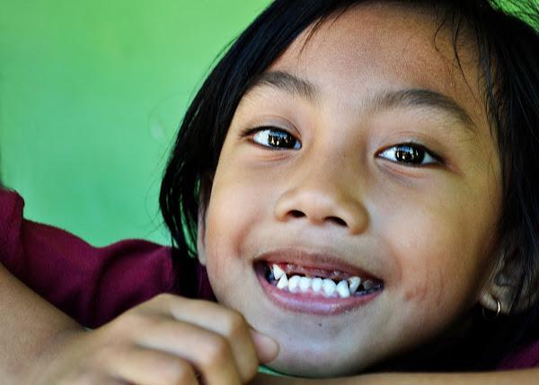 little indonesian girls face