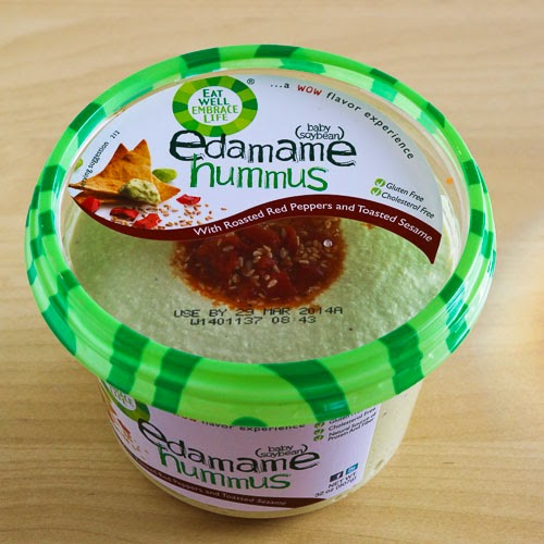 Eat Well Embrace Life Edamame Hummus