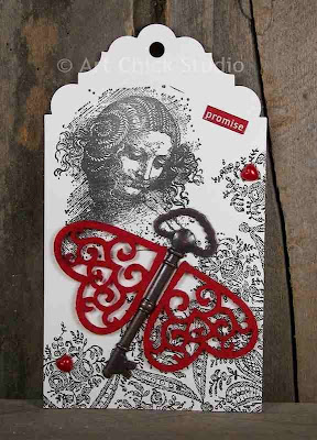 The Promised Altered Art Hang Tag