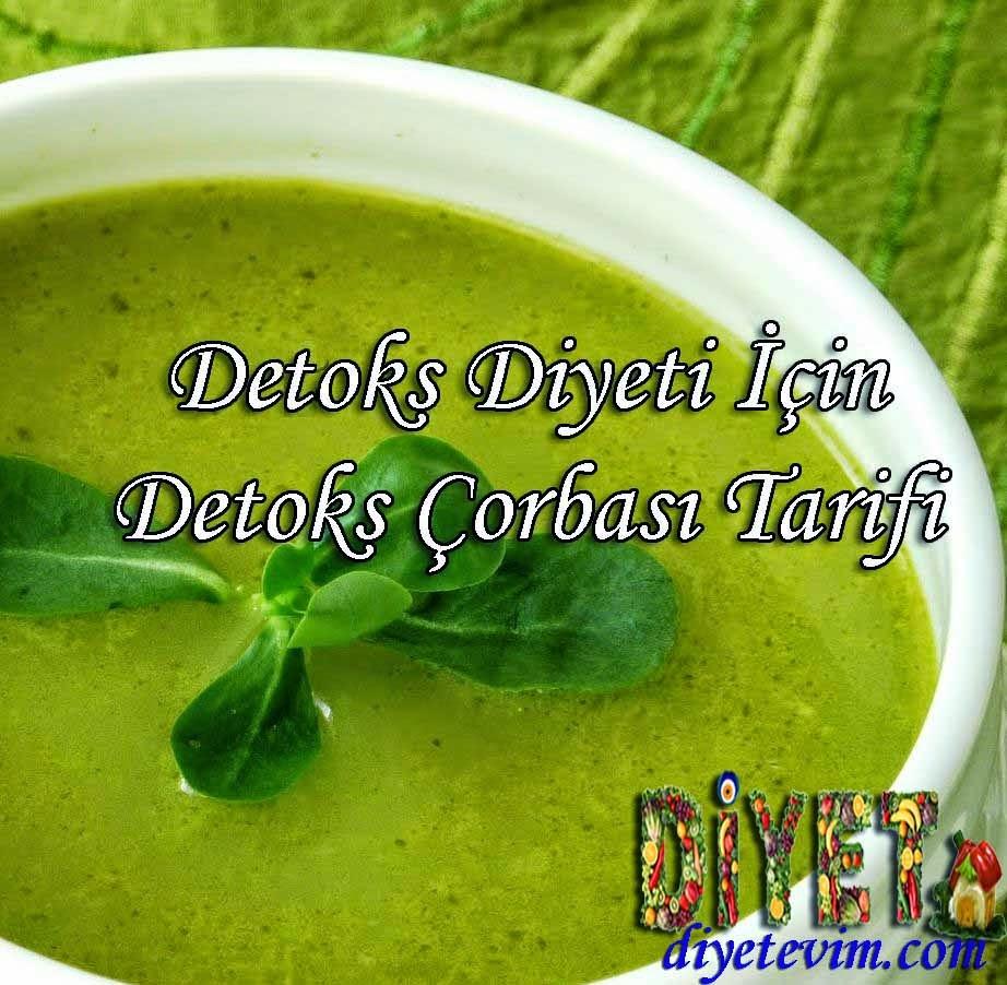 detoks diyeti çorbası