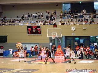 Kyoto Hannaryz basketball
