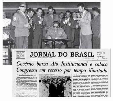 Costa e Silva promulga o AI-5
