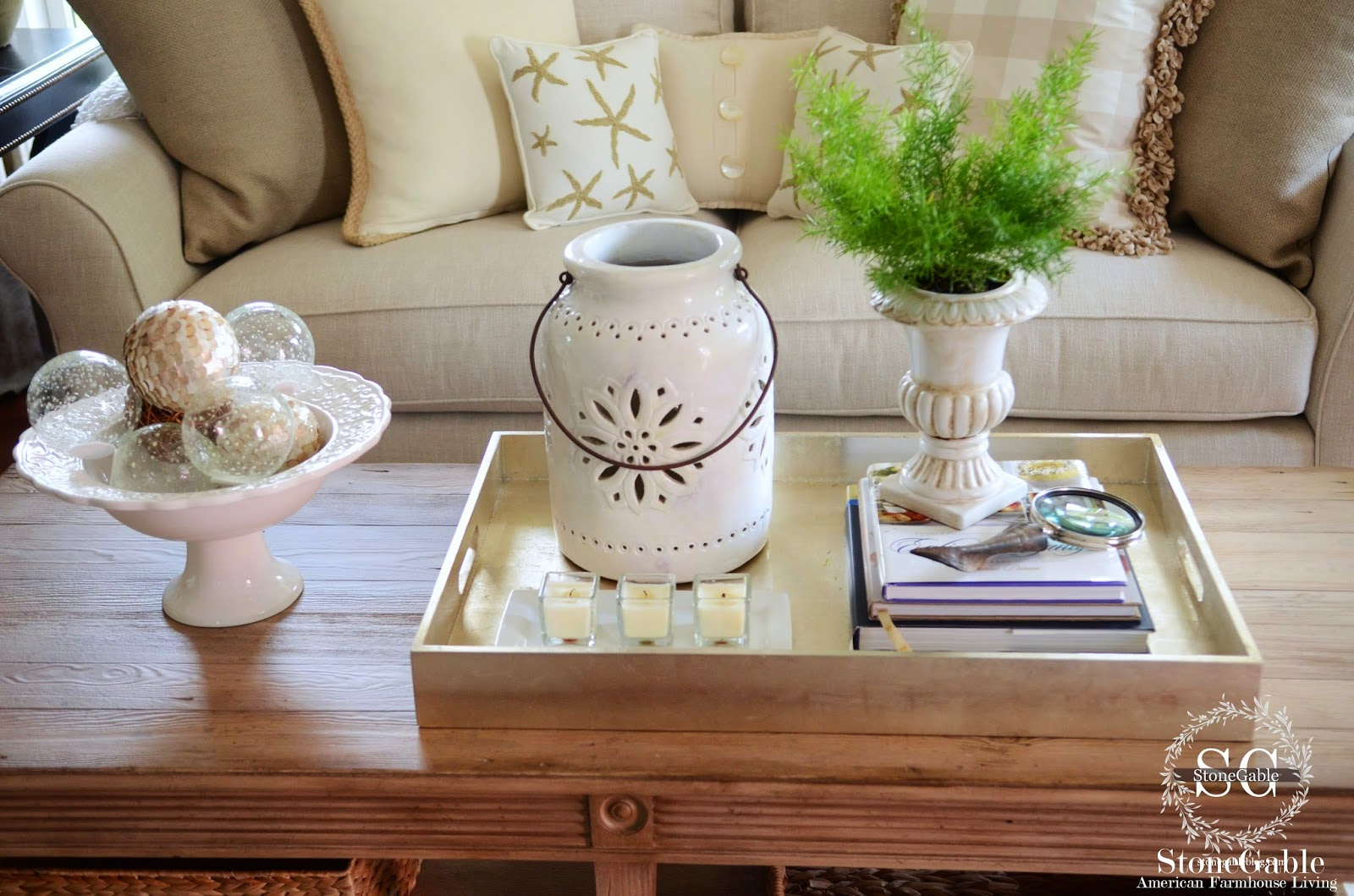 5 Tips To Style A Coffee Table Like A Pro Stonegable
