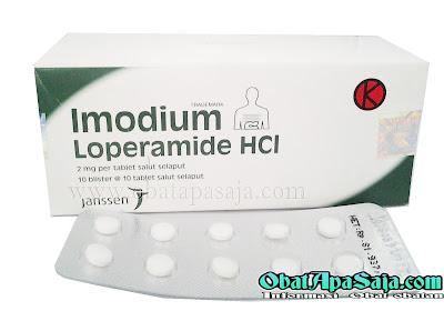 Imodium Loperamid HCl Indikasi Dosis dan Harga