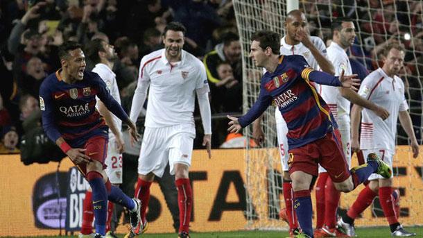 El FC Barcelona consiguió una victoria de prestigio contra el Sevilla (2-1)