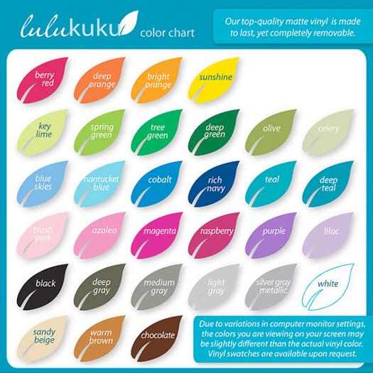 IHeart Organizing: IHeart Giveaway: Lulukuku Decals!