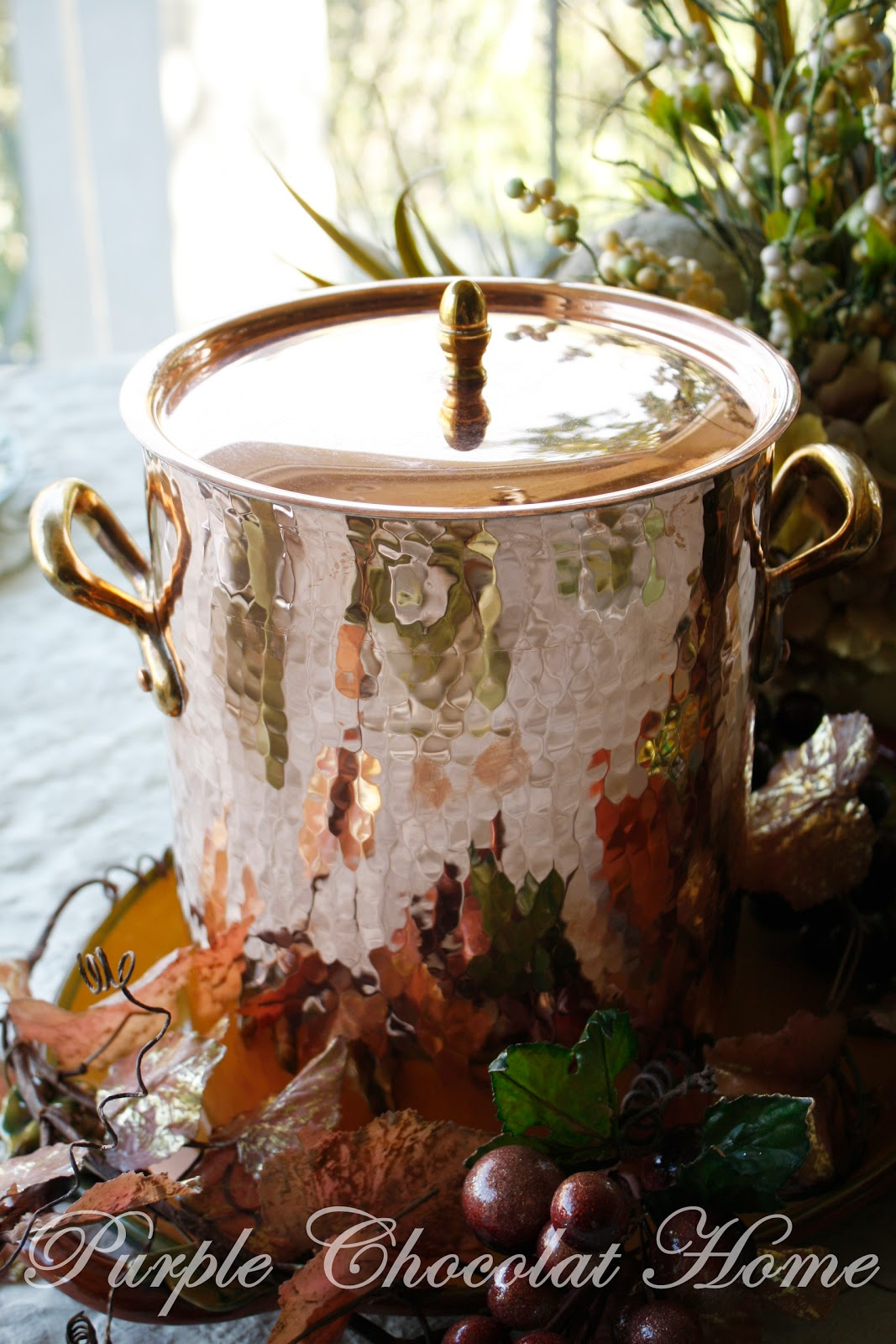 Williams Sonoma Copper Stock Pot Giveaway Amp Fall