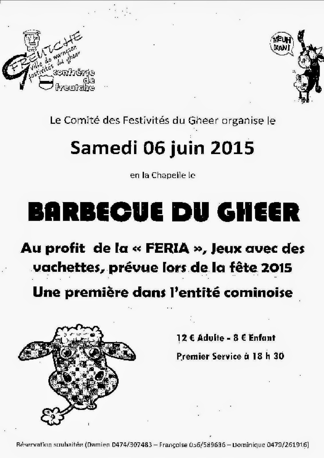 6 JUIN BARBECUE DU GHEER