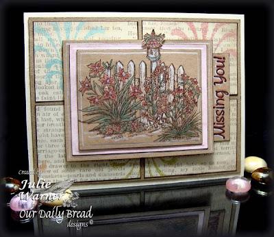 """Our Daily Bread designs """"Missing You"""" Designer Julie Warner"""