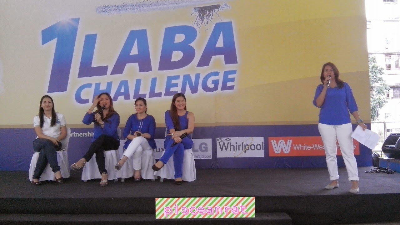 Host DJ Laila, Ms. Mara Banson, Breeze Brand Manager, SIge Moms DImples Romana, Gladys Reyes and Christine Bersol Babao.