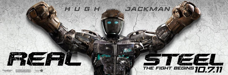 Atom robot Real Steel poster