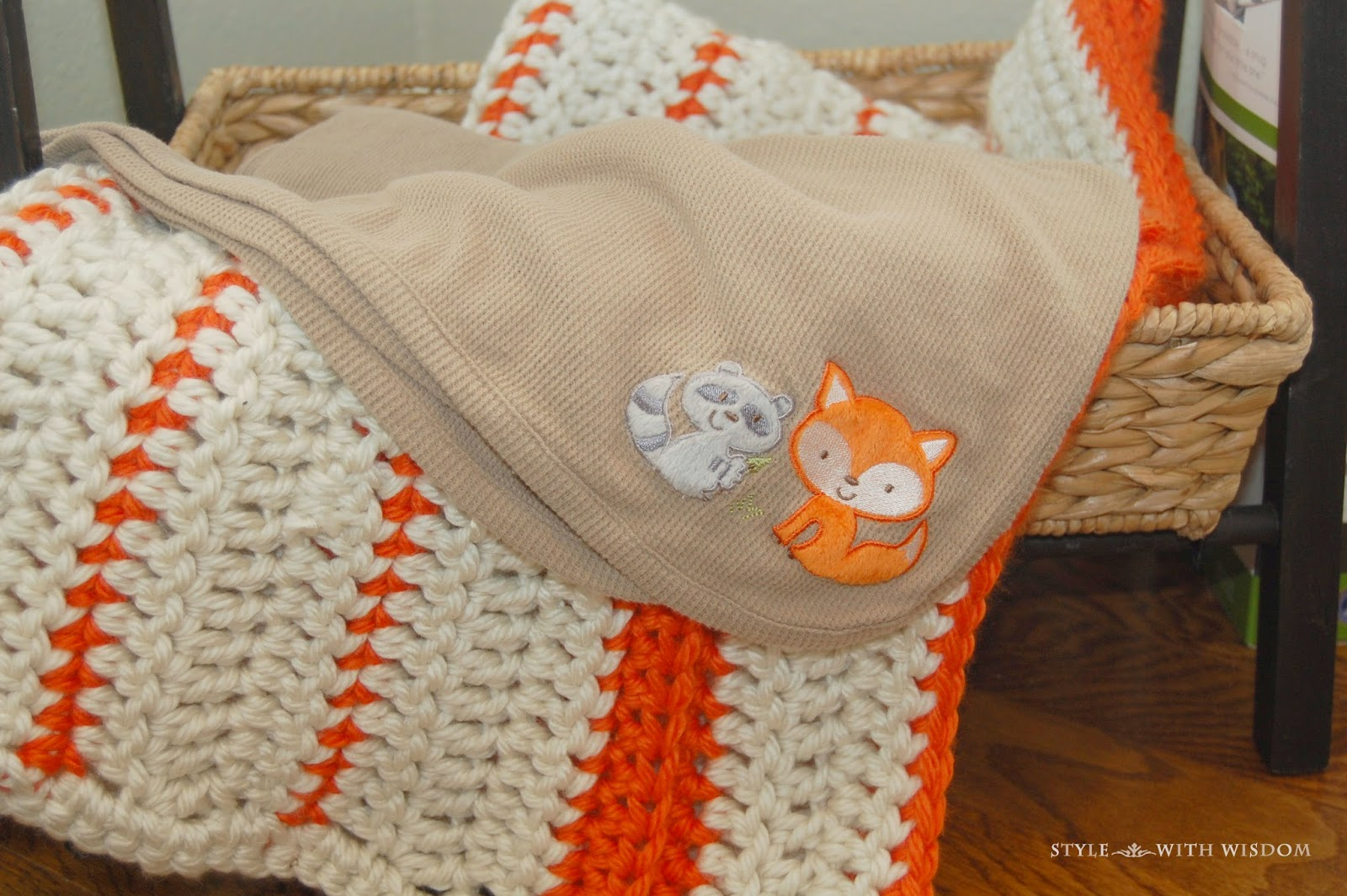 Woodland Nursery blankets