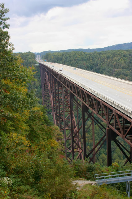 New River Gorge Bridge roadside