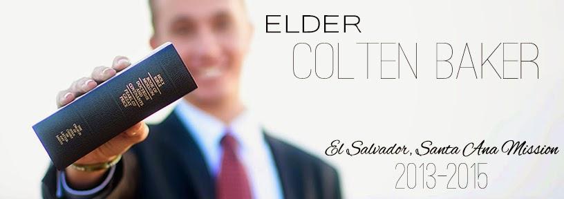 Elder Colten Baker